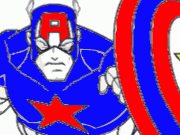 Captain American Coloring