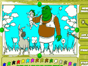 Shrek 2 Create Color